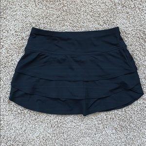 Athleta Black Tennis Skirt